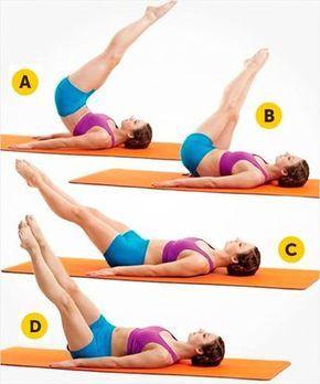 Bel incelten egzersizler fitness workouts exercises