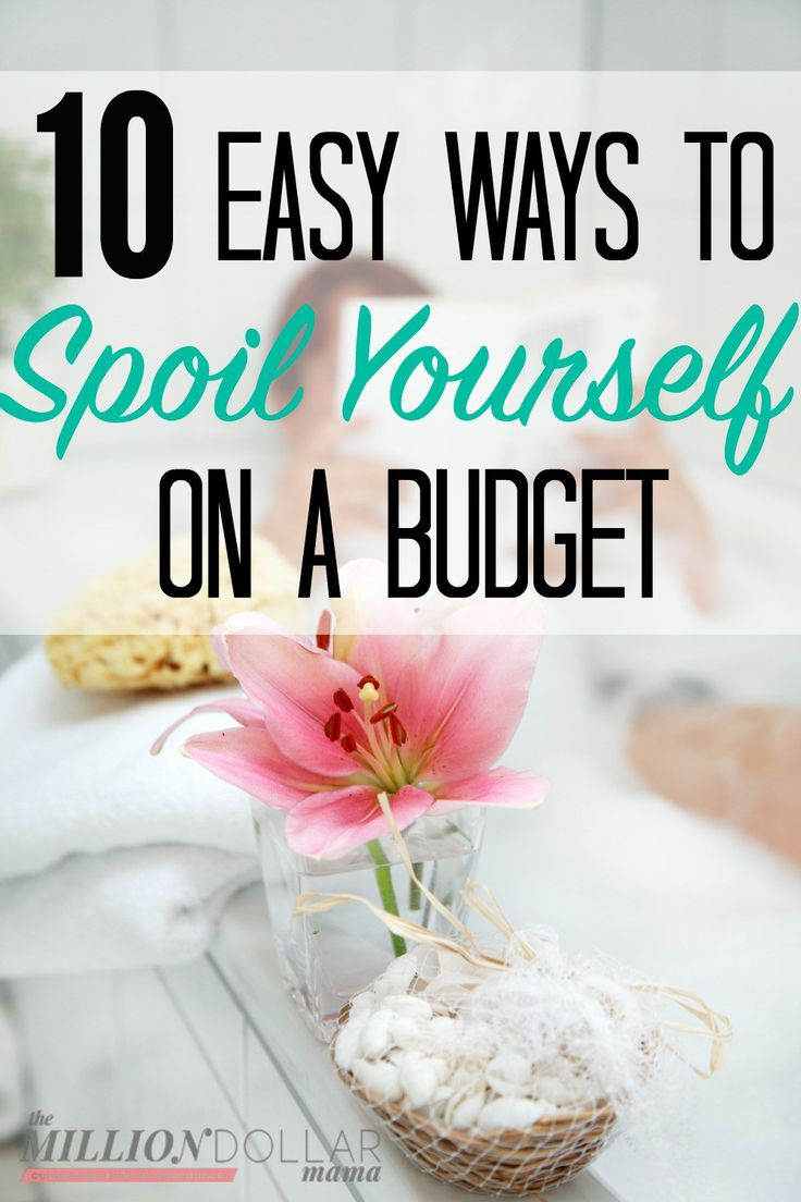 Frugal ways to pamper yourself! As a busy mom, you're constantly finding yourself pulled in so many directions. It's so important that you practice self-care and look after yourself, too! Click through to find out 10 budget-friendly ways to pamper yourself.