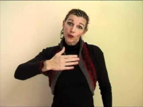 Liedje met gebaren: Op een grote paddestoel. Gebaren niet hetzelfde als op de groep