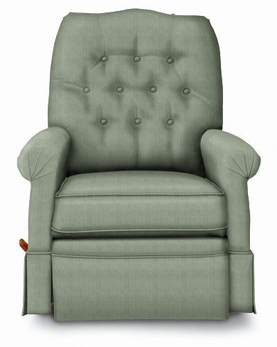 Lyndon Reclina Rocker 174 Recliner By La Z Boy Seafoam