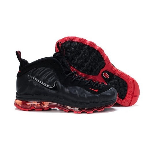 Brand Nike Foamposite One Fusion Black Red Man Shoes For $68.99 Go To: http: