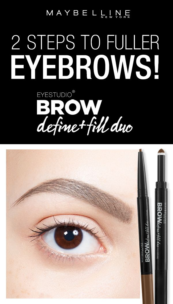 how to fill in eyebrows natural look