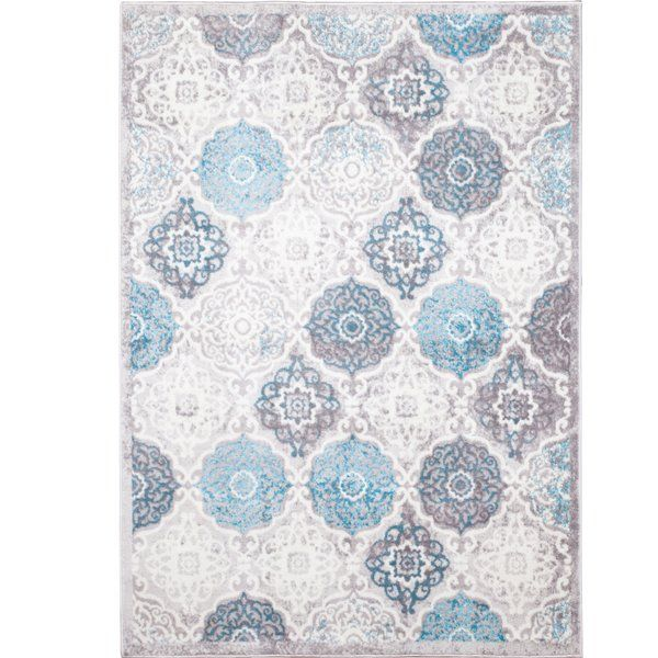 Kallie Quilted Gray Blue Area Rug Blue Area Rugs Area Rugs Grey Quilt