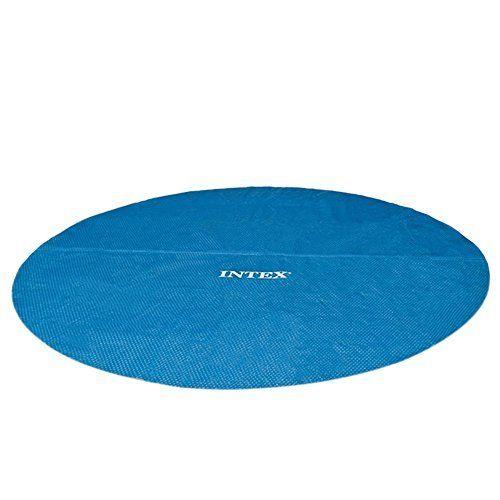 Intex Bâche à bulle Bleu: Ce film pour piscine de haute qualité maintient l'eau des piscines à une température plus élevée Il assure aussi…