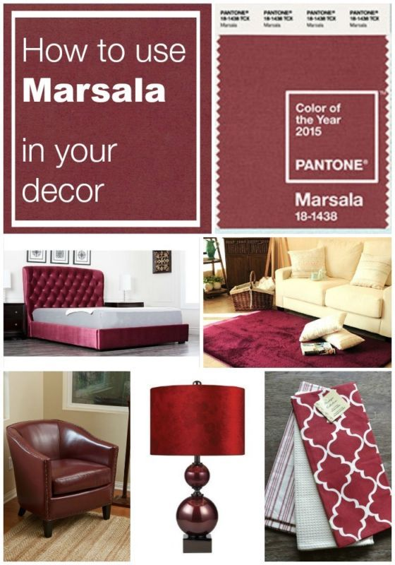 18 best Marsala Everything Pantones Color Of 2015 images on