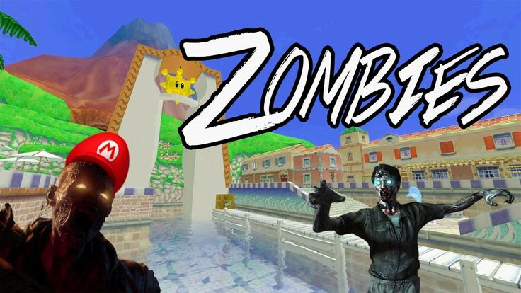 Super Mario Sunshine map in Black Ops 3 Zombies. https://www.youtube.com/watch?v=Btnrcp3FRDo&t=327s