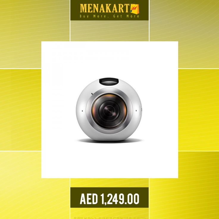Samsung Gear 360 Camera, White #Samsung #SamsungGear #SmartWatches #Camera #online #shopping