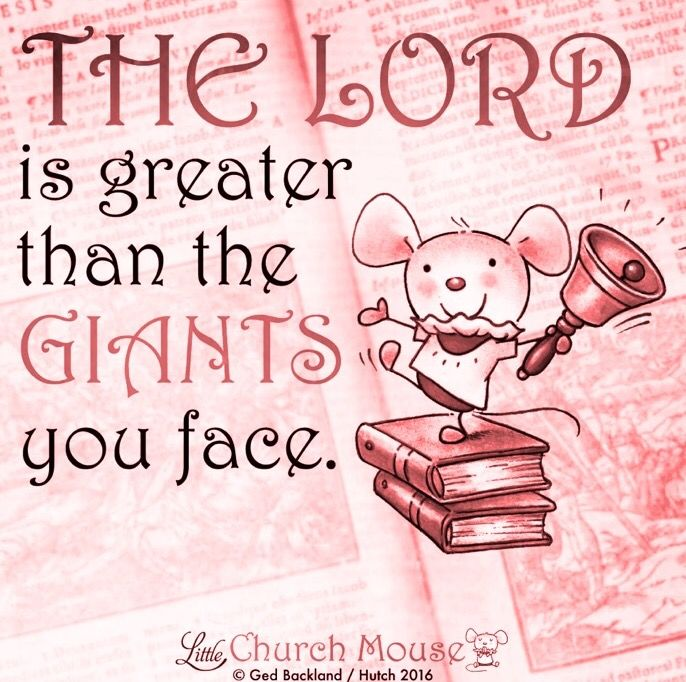 Thank you little church mouse