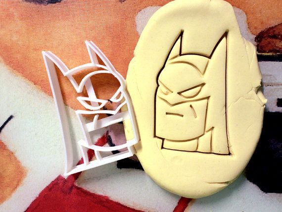 Hey, I found this really awesome Etsy listing at https://www.etsy.com/listing/203574622/batman-cookie-cutter-made-from