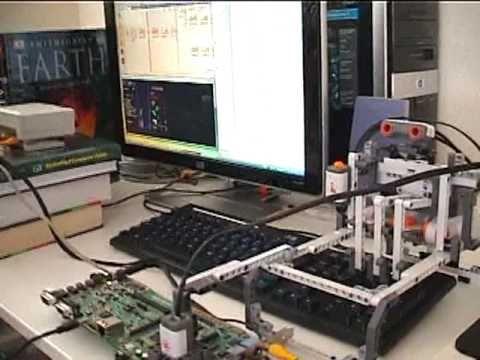 Tetris-Bot (TI DSP + Lego NXT robot) - YouTube | Lego