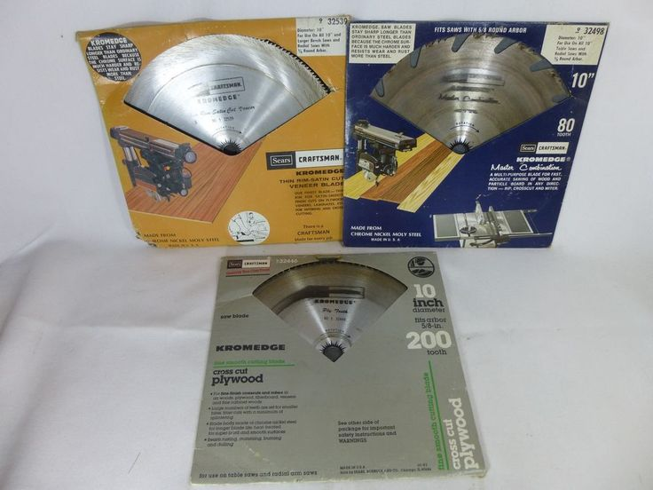 9 32539 32498 32446 10 Inch Table Saw Blades