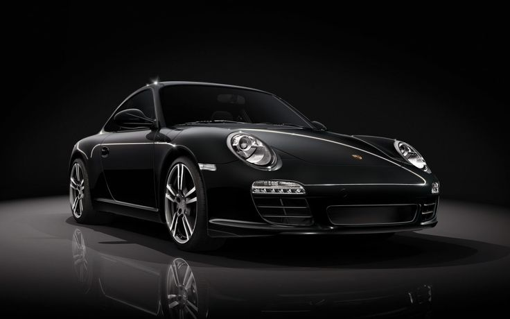 911 Turbo Black Edition