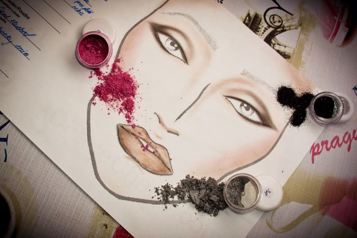 Loose pigment eyeshadow