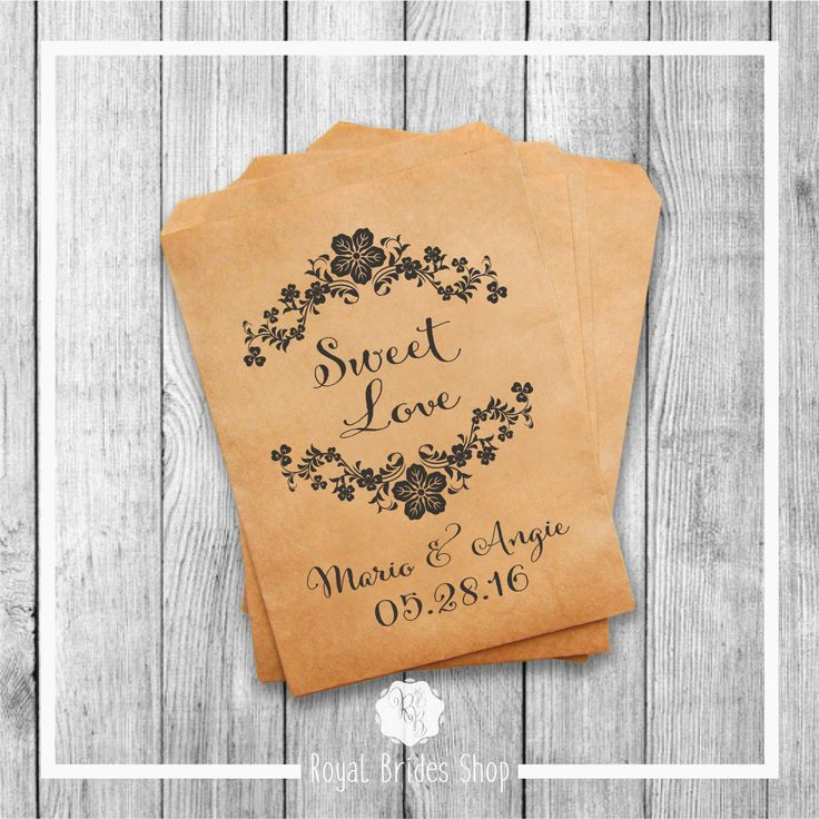 Wedding Favor Bags - Style 010