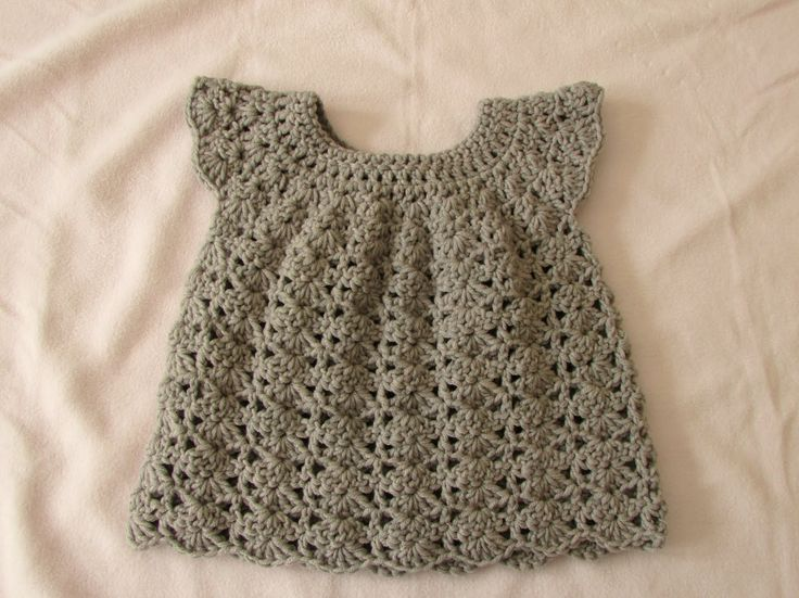 This detailed step by step tutorial will show you how to crochet a pretty baby…