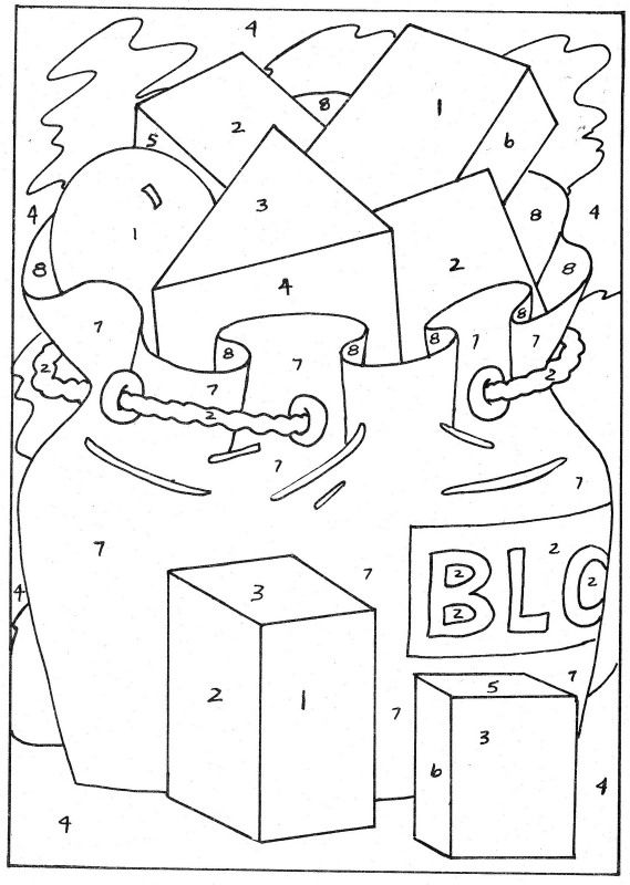 Colour By Numbers Learningenglish Esl Pattern Coloring Pages Fall Coloring Pages Color By Numbers