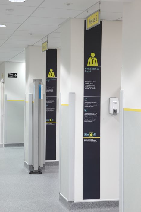 "Signage system designed for hospitals ""reduces violence by 50 percent"""