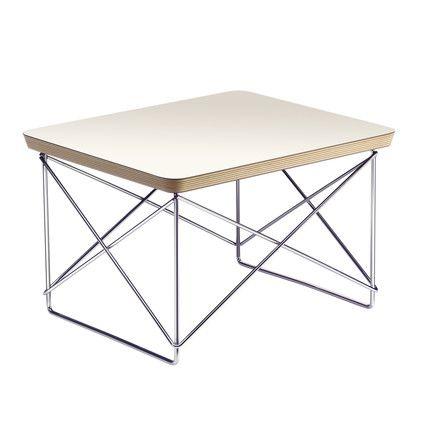 Der Eames Occasional Table LTR von Vitra in weiß - Einzelabbildung