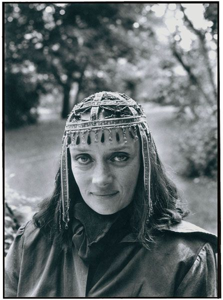 """Niki de Saint Phalle, Paris, 1981"" One of my favorite sculptresses..."