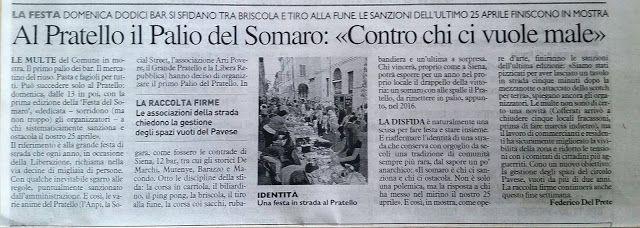 Massimo Fagnoni writer: Vita da sbirro ... il palio del somaro