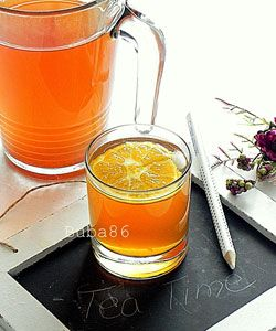 Perfect home made iced tea. I love new ice tea recipes and this is one to try.