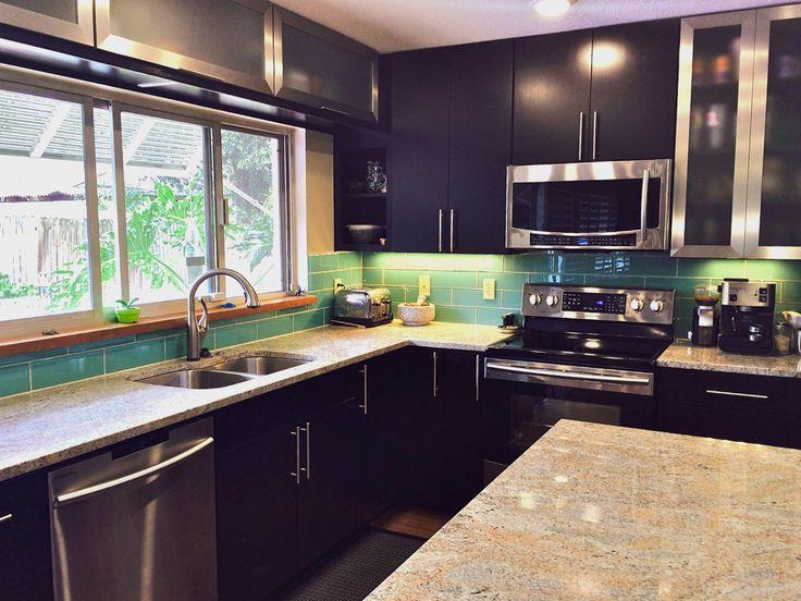 486 best Kitchen Tile images on Pinterest Glass subway tile