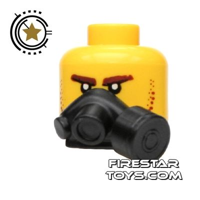 Tiny Tactical - Gas Mask - Black