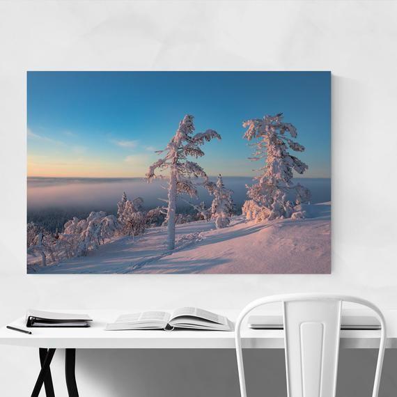Kolari Print, Kolari Wall Art, Ylläs Print, Ylläs Wall Art, Finland Print, Finland Wall Art, Winter