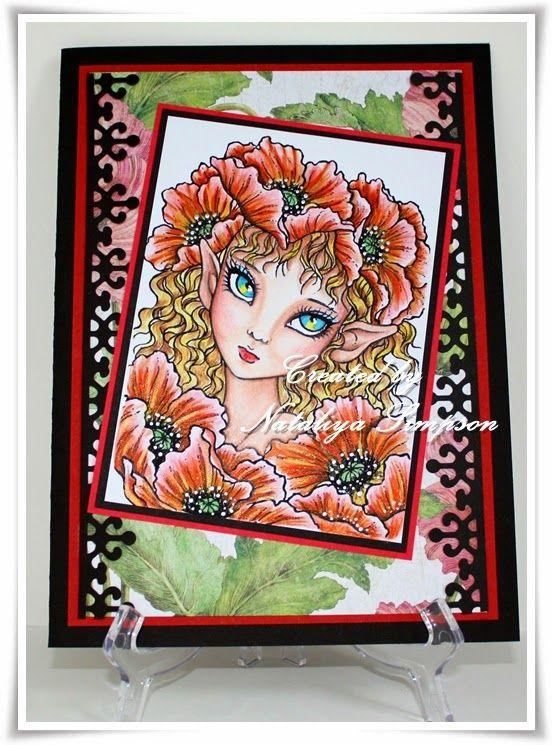 """Poppy Elf"" by Mitzi Sato Wiuff"