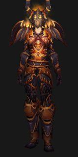 Destroyer Armor - Transmog Set - World of Warcraft