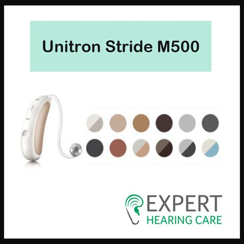 Unitron Stride M500 hearing aids offer big performance at an affordable price in one of Unitron's smallest ever behind-the-ear models.  For more details visit http://bit.ly/2ozNUiF #ExpertHearingCare #Australia #Perth