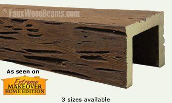 Pecky Cypress Ceiling Beams | Faux Wood Beams