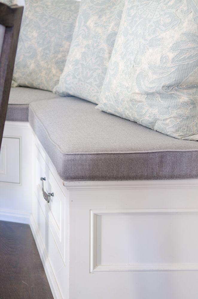 How I Made My Breakfast Nook Super Cozy Sanctuary Home Decor Breakfast Nook Cushions Nook Cushion Breakfast Nook