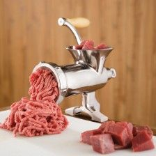 #10 Stainless Steel Meat Grinder - by LEM (821)