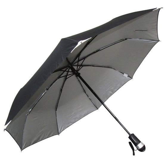 Hilo Rain Ultimate Umbrella - Built-In Flashlight - UV Liner - Works Day Night - Rain Shine, Superior Luxury - Freedom - Protection >>> Remarkable product available now. : Travel accessories