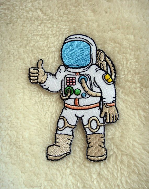 Astronaut Applique Iron on Patch #Patch