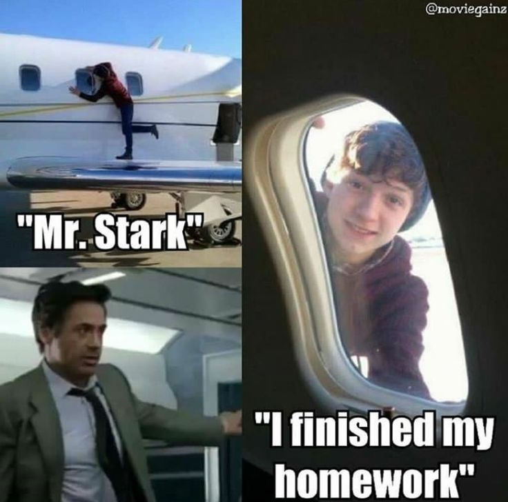 Just keeping up with his reports to Mr. Stark. #spider-man #tonystark
