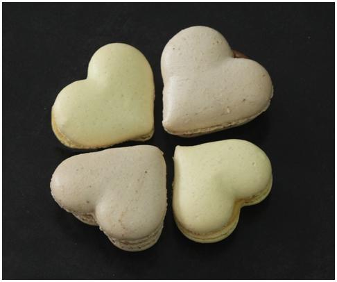 Heart Shape Macaron By Monsieur Spoon