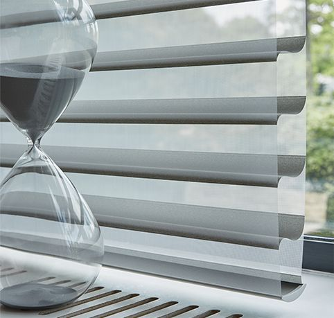Luxaflex® Silhouette® Shades Super stylish and versatile – making them perfect choice for every window in your home with a range of vane widths to suit your style. #Luxaflex #SilhouetteShades #Blinds