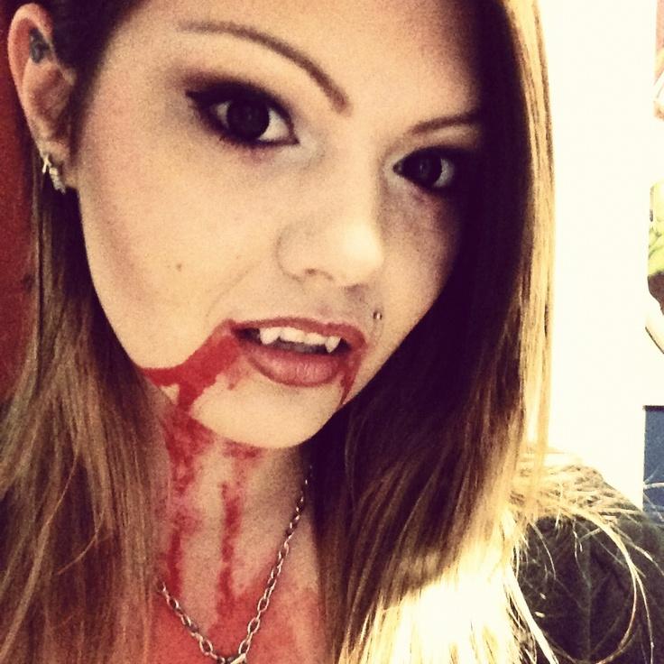 vampire makeup tutorial female