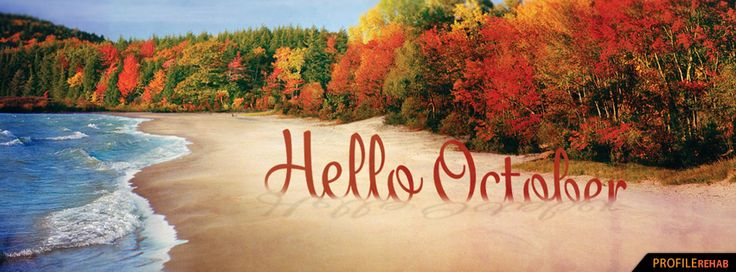 Autumn Beach Images - Fall Beach Pictures - Beautiful Fall Scenery Pictures - Facebook Cover Download