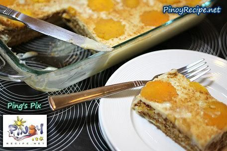 Mango Float - Easy dessert anyone can make