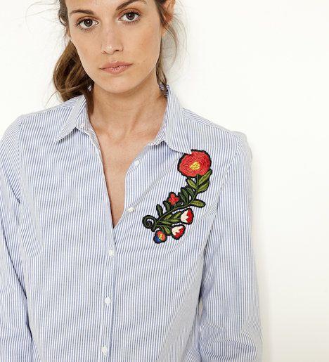 Bluzka z haftem