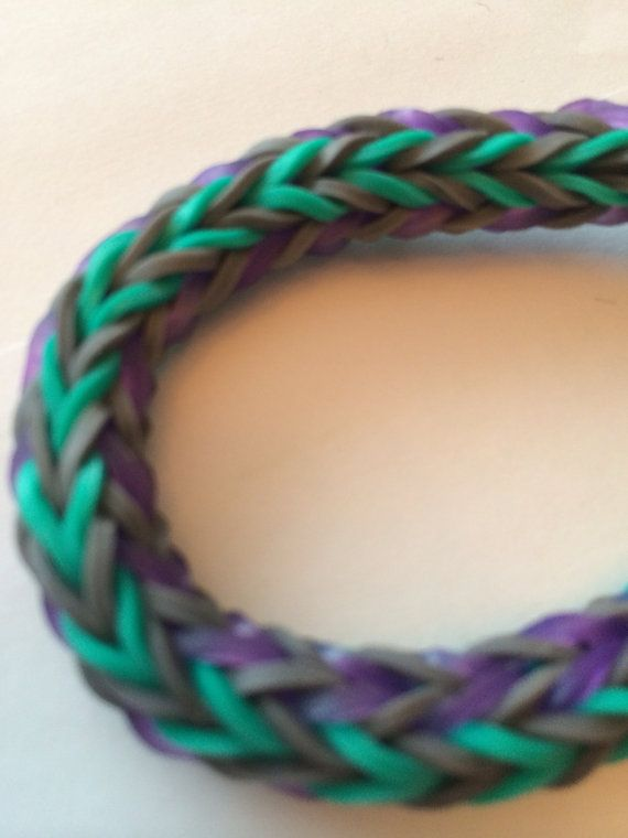 Loom double cross bracelet made to order on Etsy, $5.00 CAD
