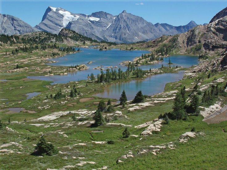 Limestone lakes B.C.