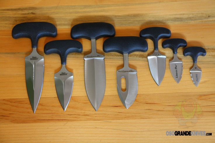 Push Daggers. http://www.osograndeknives.com/store/catalog/m-cold-steel-knives-57-1.html