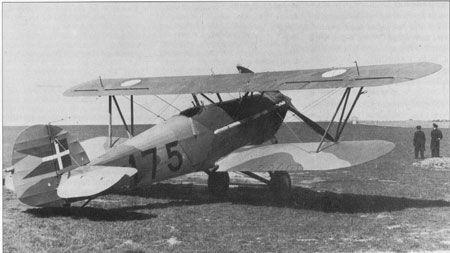 Hawker Nimrod-jagerfly, Luftmarinestation Avnø