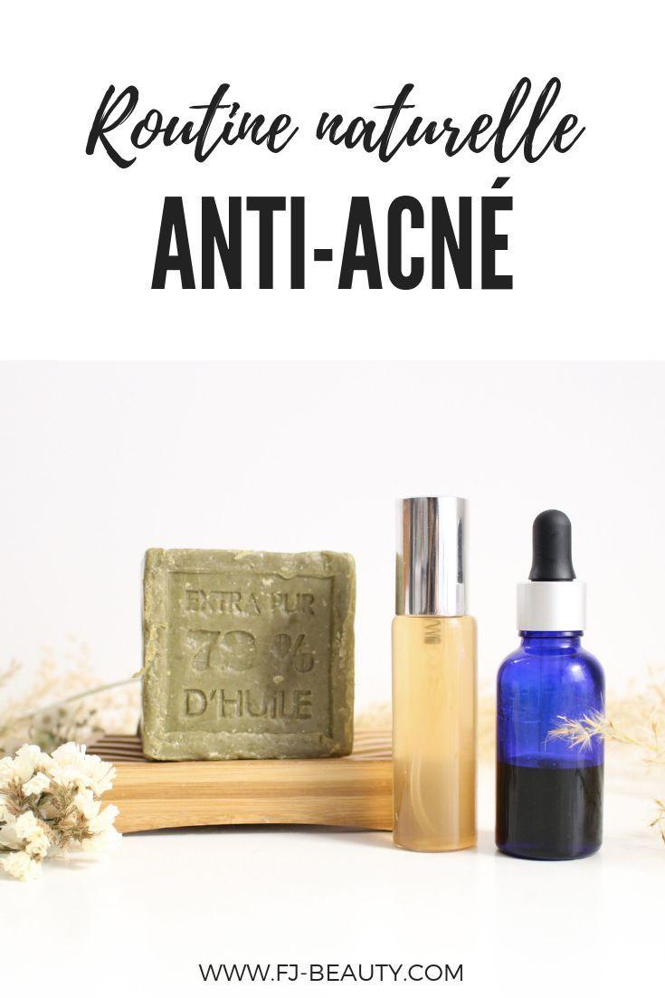 Routine naturelle anti-acné #acné #beautébio #slowcosmétique #antiacné