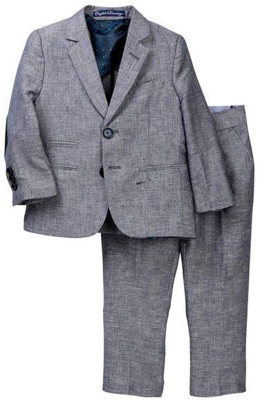 7b0a21c64 English Laundry 2-Piece Heathered Suit Set (Toddler   Little Boys ...