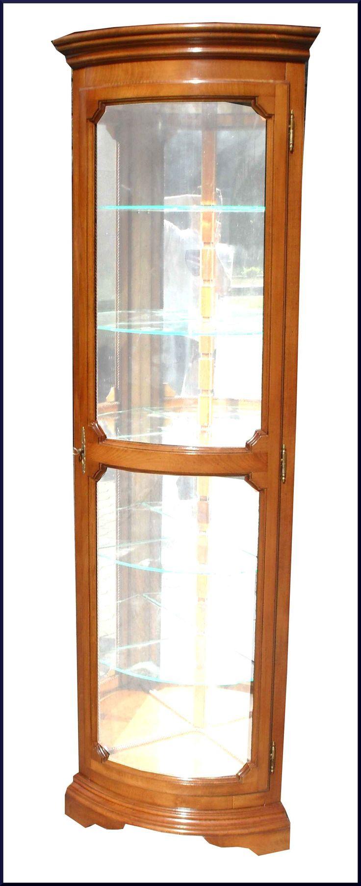 Angoliera cantonale anta curva con specchi